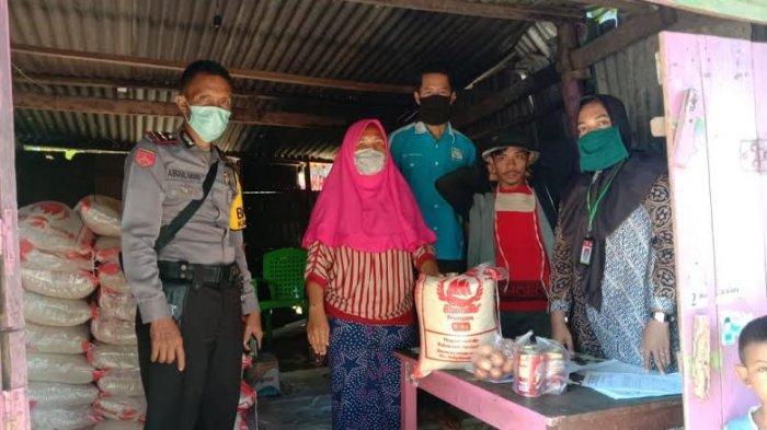 Dipastikan Transparan, Penyaluran Bantuan Sosial Pangan Sembako di Jeneponto Dikawal TNI-Polri