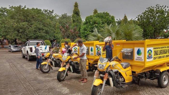 PT Energi Bayu Serahkan 3 Unit Motor Sampah ke Pemda Jeneponto