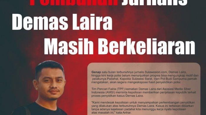 Pembunuhan Wartawan di Mateng Belum Terungkap, AMSI Pertanyakan Kinerja Polisi