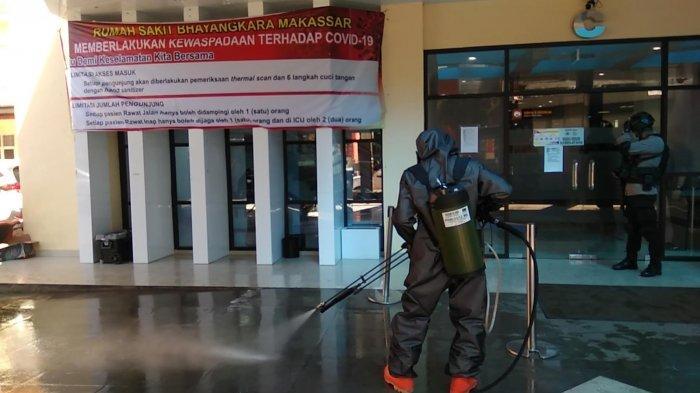 Jumlah Pasien Rawat Inap di RS Bhayangkara Makassar Berkurang Hingga 70 Persen