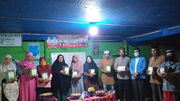 Yayasan Amal Redena Indonesia Salurkan Buku Iqra ke TKA/TPA di Tamalatea Jeneponto