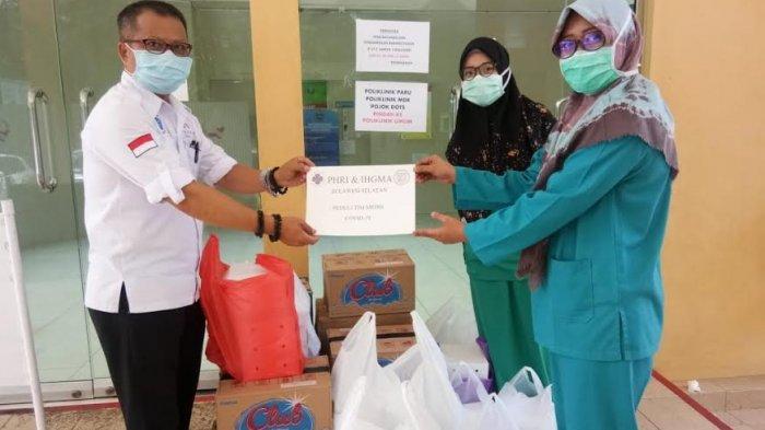 PHRI dan IHGMA Kirim Bantuan Makanan untuk Petugas Medis
