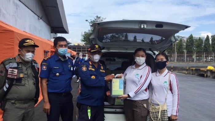 INLA Sulsel Sumbang Eco Enzyme ke Satgas Isolasi Apung Terpadu Pemkot Makassar