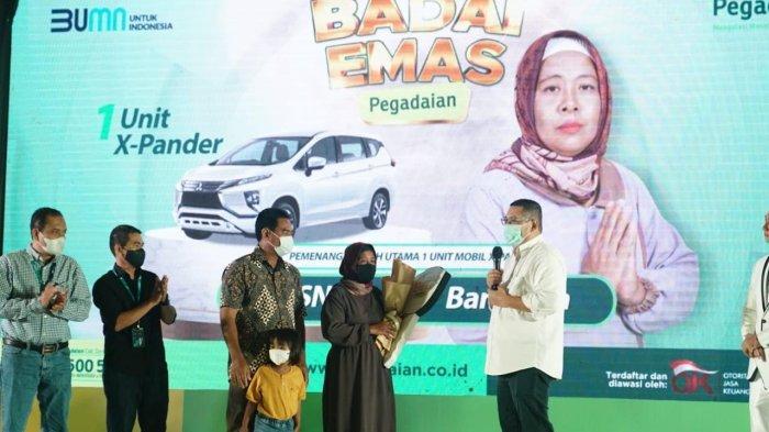Ini Dia Pemenang Hadiah Grandprize Badai Emas Pegadaian Kanwil VI Makassar