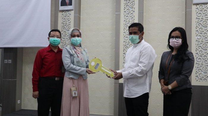 Antisipasi Melonjaknya Pasien, GMTD Serahkan Sementara Gedung Pemasaran ke RS Siloam