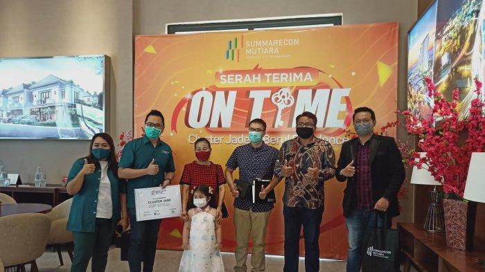 Serah Terima Jade dan Beryl Summarecon Mutiara Makassar Lebih Awal dari Jadwal