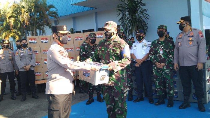 Alumni Perwira TNI-Polri Letting 1991 Salurkan 1.000 Paket Sembako