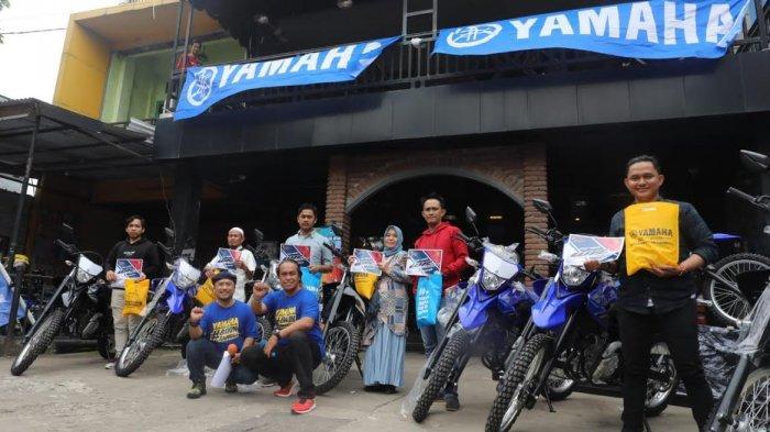 12 Motor Yamaha WR 155R Pertama Mengaspal di Makassar