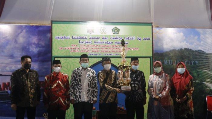 Kecamatan Tapalang Juara Umum STQH Mamuju ke-XXVI