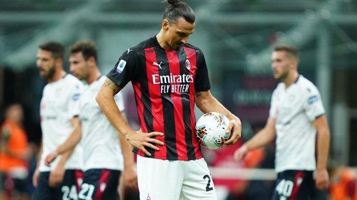 HASIL COPA ITALIA Inter Milan vs AC Milan: Ibrahimovic Kartu Merah, Nerazzurri Menang Comeback