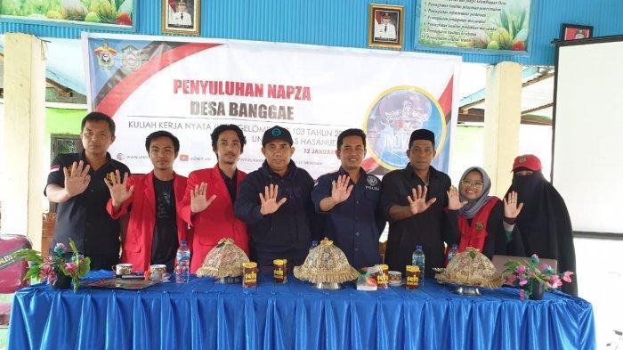 Mahasiswa KKN Unhas Penyuluhan NAPZA di Takalar