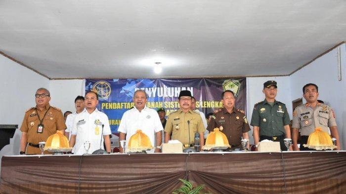 Warga di Lima Kecamatan Gowa Dapat Jatah Pendaftaran Tanah Puluhan Ribu Bidang