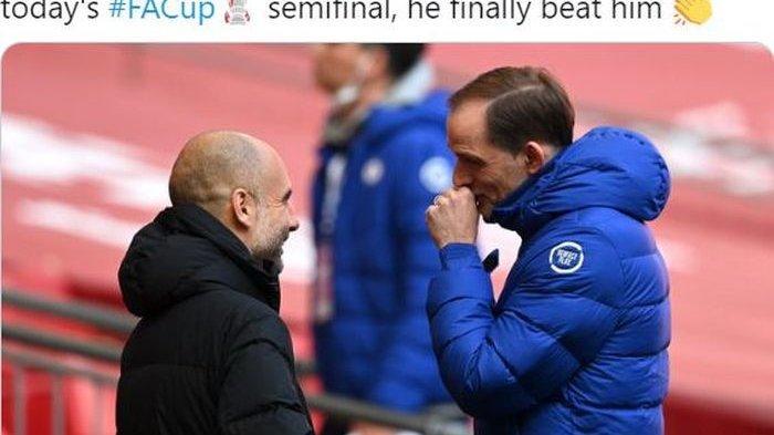 Final Liga Champions Man City vs Chelsea, Guardiola Kantongi Rahasia Taktik Tuchel