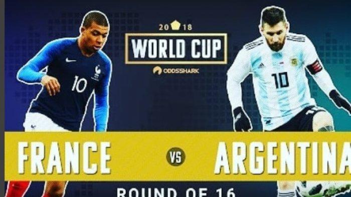 Live di Trans TV Babak 16 Besar Perancis Vs Argentina: Prakiraan Starter, Statistik, Bursa Prediksi