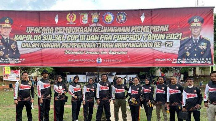 Enam Atlet Perbakin Pinrang Lolos ke Porprov 2022