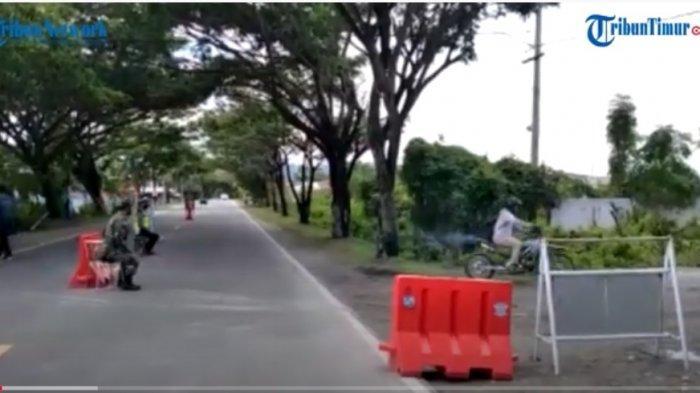 Polisi Siaga 24 Jam di Perbatasan Majene-Polman, Warga yang Lewat Wajib Kantongi Surat Rapid Test