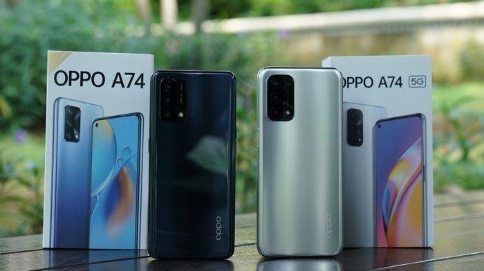 Mana yang Lebih Bagus Oppo A74 atau Oppo A74 5G? Beda Harga Cuma Rp200 Ribu, Simak Perbandingannya
