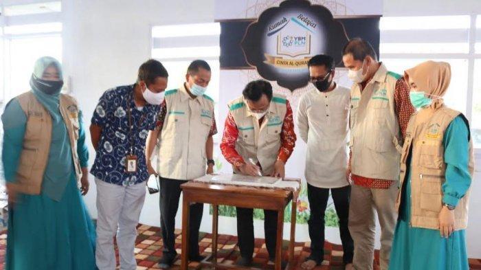 YBM PLN Resmikan Rumah Belajar Cinta Alquran di Parepare
