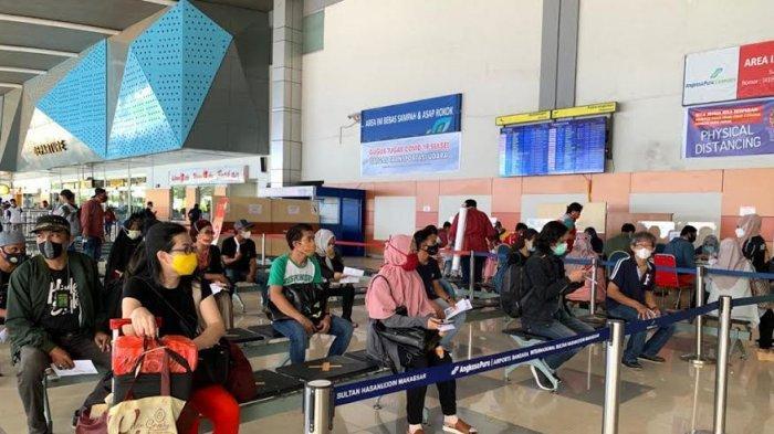 Jelang Larangan Mudik, Jumlah Penumpang dari Bandara Sultan Hasanuddin Meningkat