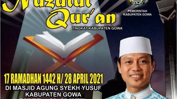 Peringati Nuzulul Quran, Ustadz Das'ad Latief Bakal Jadi Penceramah di Masjid Syekh Yusuf Gowa