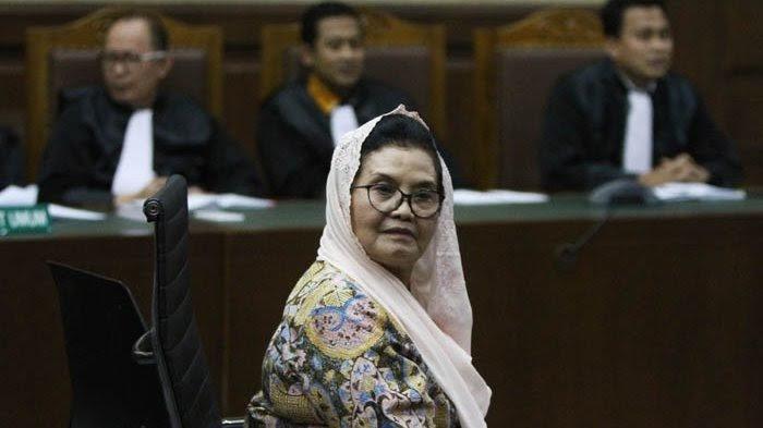 Perjalanan Kasus Mantan Menkes Siti Fadilah Supari, kini Resmi Bebas setelah Divonis 4 Tahun Penjara