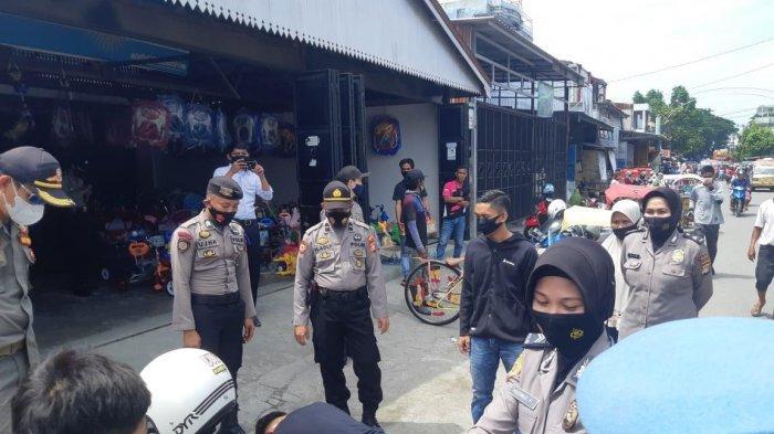 Sasar Pusat Keramaian, Warga Majene Tidak Pakai Masker Dihukum Push Up