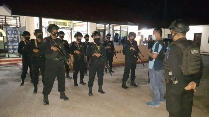 Rumah Camat dan Posko BISA Diserang, Brimob Baebunta Perketat Pengamanan di Bone-bone Lutra