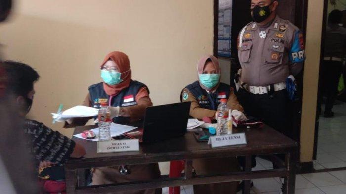 Digelar Dua Hari, 282 Personel Polres Bantaeng Jalani Vaksinasi Covid-19