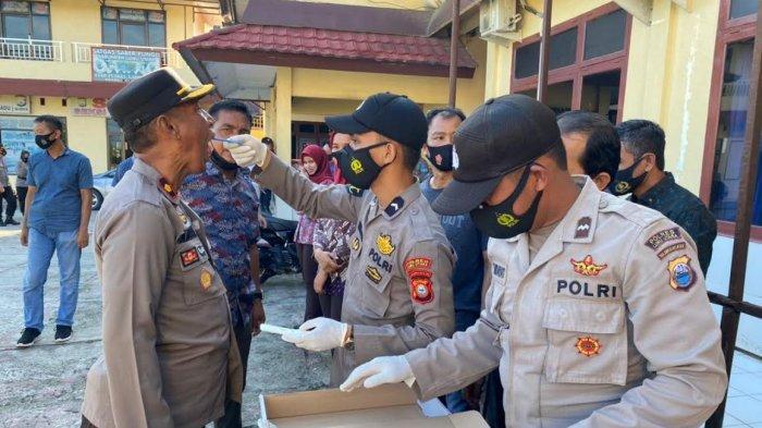102 Personel Polres Luwu Utara Juga Jalani Tes Narkotika