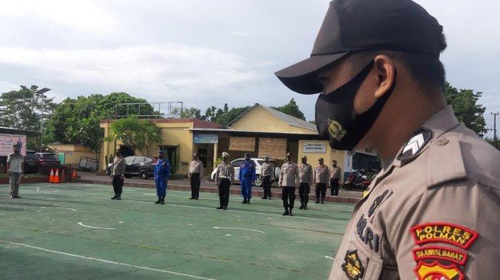 Wakapolres Polman Ingatkan Seluruh Personel Disiplin Protokol Kesehatan
