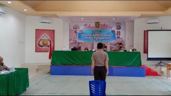 Pelanggaran Disiplin, Personel Polres Pasangkayu Disanksi Penundaan Kenaikan Pangkat