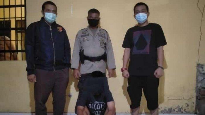 Polsek Larompong Luwu Tangkap Pelaku Pencurian Handphone