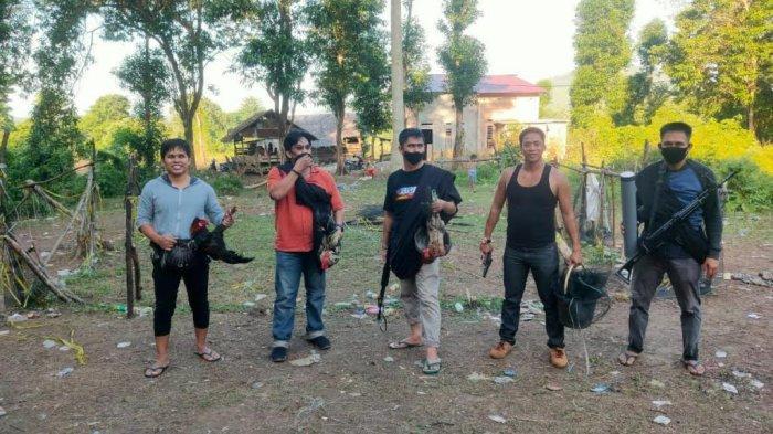 Polisi Gerebek Arena Judi Sabung Ayam di Telluwanua Palopo, Pelaku Kabur ke Hutan
