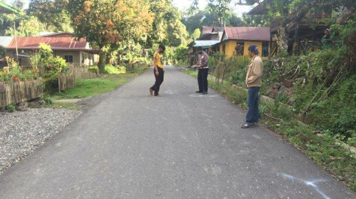 Lakalantas di Maiwa Enrekang, Pejalan Kaki Dilarikan ke Rumah Sakit
