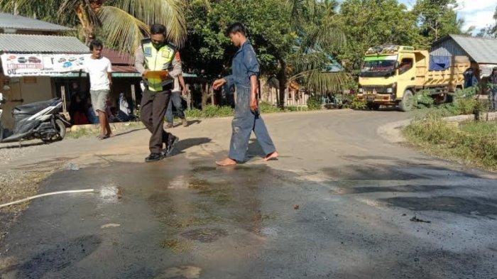 Pemuda Asal Luwu Meninggal Kecelakaan di Salubattang Palopo, Sopir Truk Digelandang Polisi