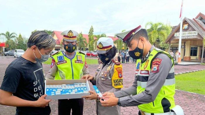 Ini Hasil Tes Narkoba 50 Personel Satlantas Polres Pinrang