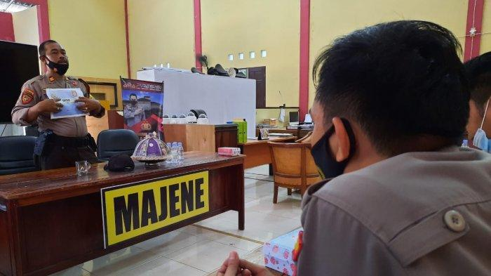 Personil Sabhara Polres Majene Dilatih TPTKP