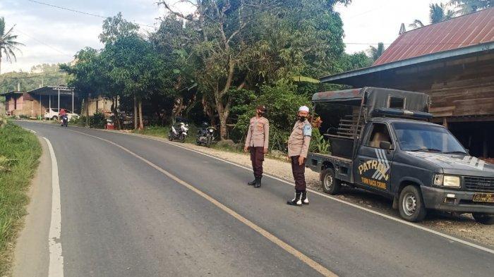 Antisipasi Balap Liar, Personel Polsek Alla Enrekang Gencarkan Patroli