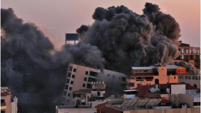Kota Israel Hancur Dihantam Roket Hamas, Ismail Haniyeh Kirim Pesan Siap Perang