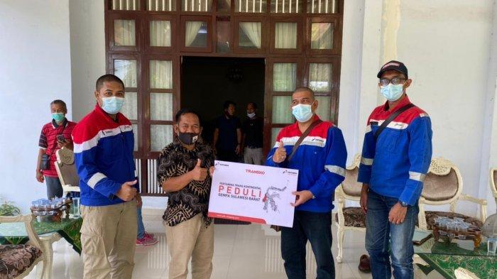Pertamina Trans Kontinental Makassar Salurkan Bantuan Gempa Sulbar, Diterima Plt Bupati Majene - pertamina-peduli-sulbar.jpg