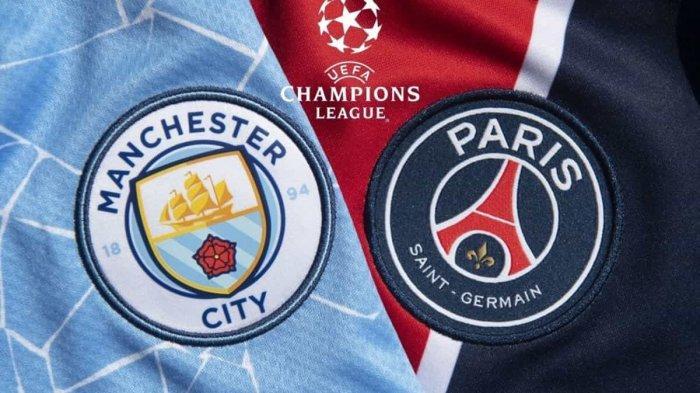 LINK Live Streaming SCTV Leg 2 Liga Champions Manchester City vs PSG