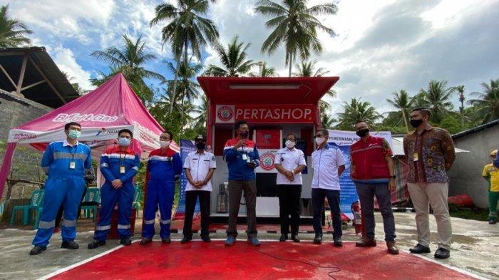 Pertashop Pertama di Sulawesi Mulai Beroperasi