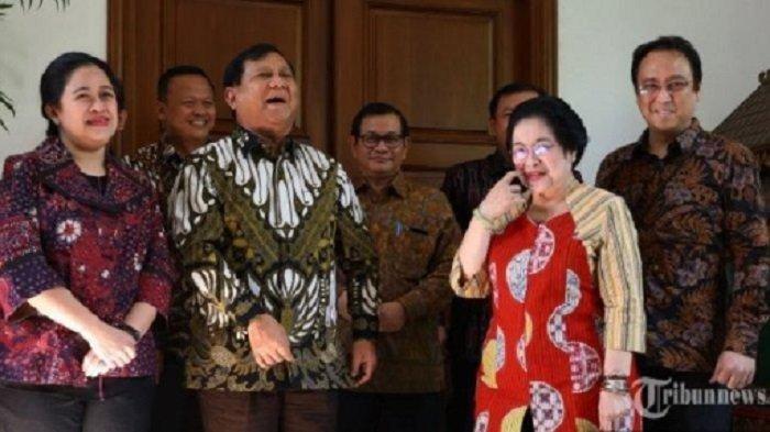 Dahsyatnya Ketika Megawati Soekarnoputri & Prabowo Subianto Kompak, Hasilnya Bamsoet Ketua MPR RI
