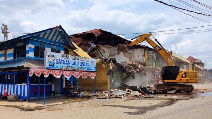 APTU: Penggusuran Pertokoan Rantepao Toraja Utara Cacat Hukum