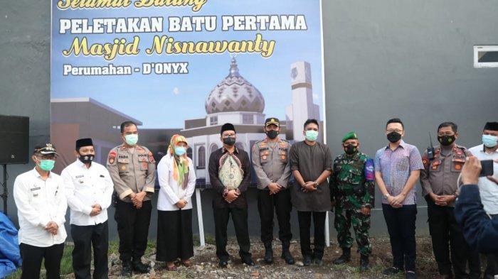 Wujudkan Keinginan Almarhumah Istrinya, Iptu Asfada Bangun Masjid 3 Lantai di Perumnas Antang