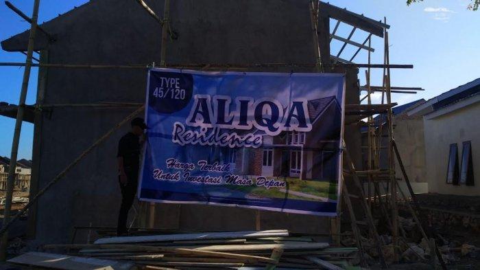 Tri Alpha Property Ubah Nama Perumahan LLDikti IX Sulawesi Jadi Aliqa Recidence