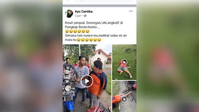 VIDEO VIRAL: Lihat Bocah Penjual Jalangkote di Pangkep Dibully & Dipukul Sampai Jatuh, Nasibnya Kini