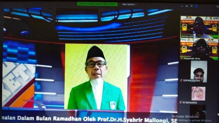 Pesantren Ramadan Virtual UMI, Bahas Amalan Hingga Tradisi Masa Lalu di Bulan Puasa