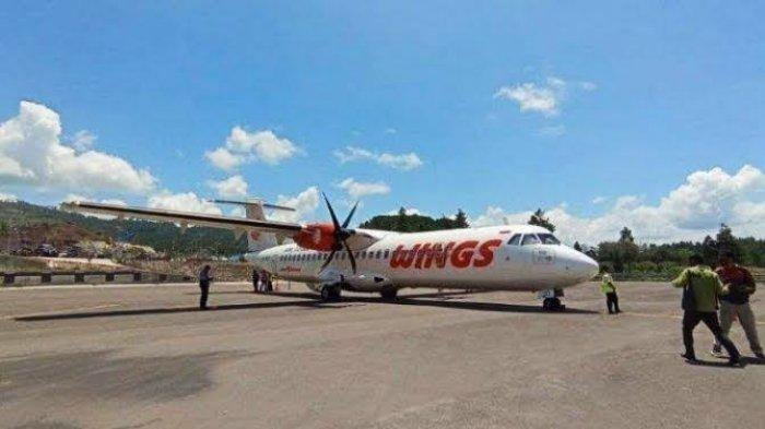 Wings Air Kurangi Jadwal Penerbangan di Bandara Toraja