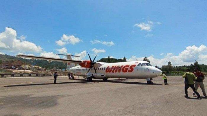 Wings Air Kurangi Penerbangan ke Bandara Toraja